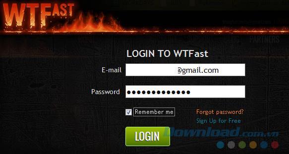 كيفية إنشاء حساب WTFast على جهاز الكمبيوتر الخاص بك