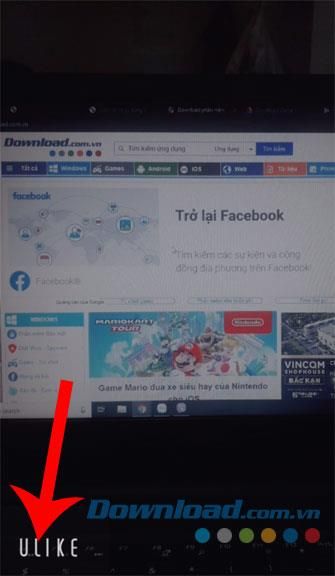 Instructions to delete the Ulike logo when taking photos