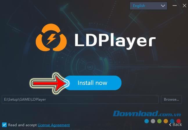 How to download and install the LDPlayer emulator to play games on PC