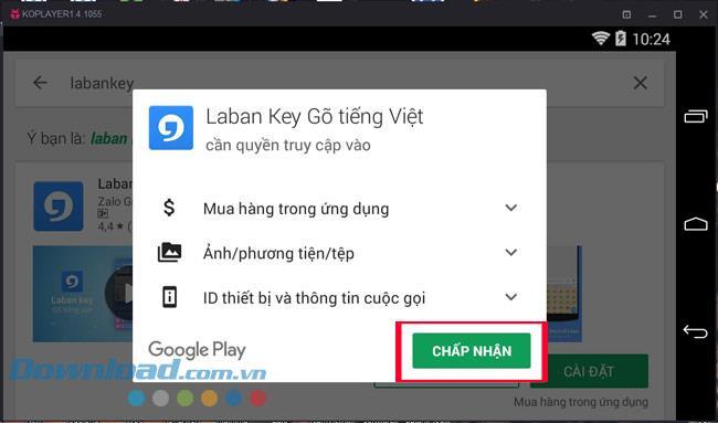 تعليمات للكتابة الفيتنامية على برنامج مضاهاة KOPlayer