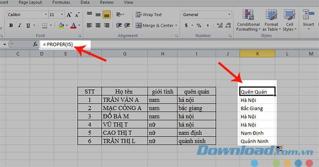 So ändern Sie Groß- und Kleinbuchstaben in Excel
