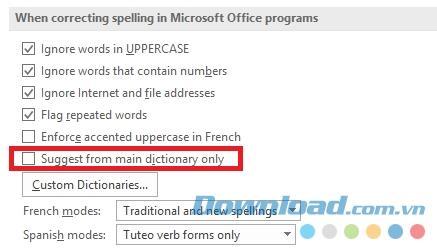 كيفية التحقق من الأخطاء الإملائية والنحوية في Microsoft Word