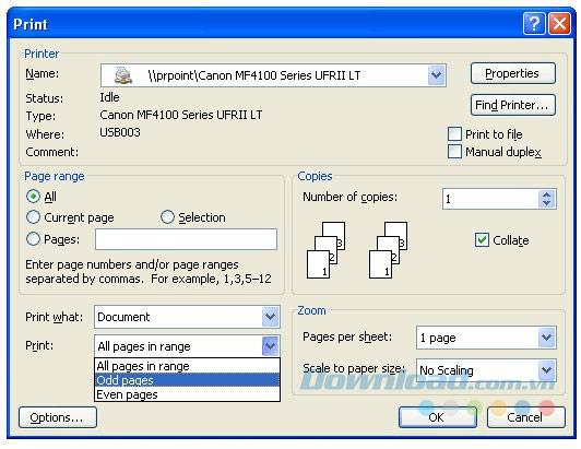 Word、Excel、PDFで両面用紙を印刷する手順