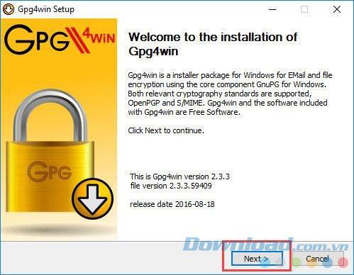 Verschlüsseln Sie E-Mails in Microsoft Outlook einfach mit Gpg4win