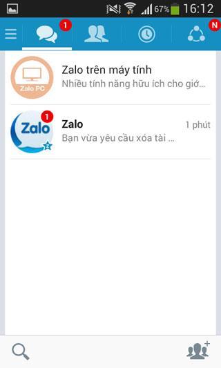 كيفية حذف حساب Zalo على الهاتف