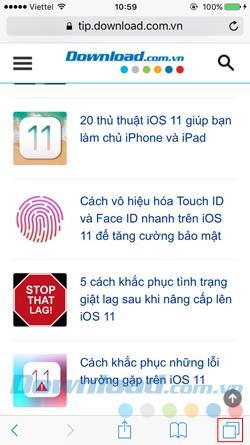 كيفية إعادة فتح علامات التبويب المغلقة مؤخرًا على iPhone و iPad؟