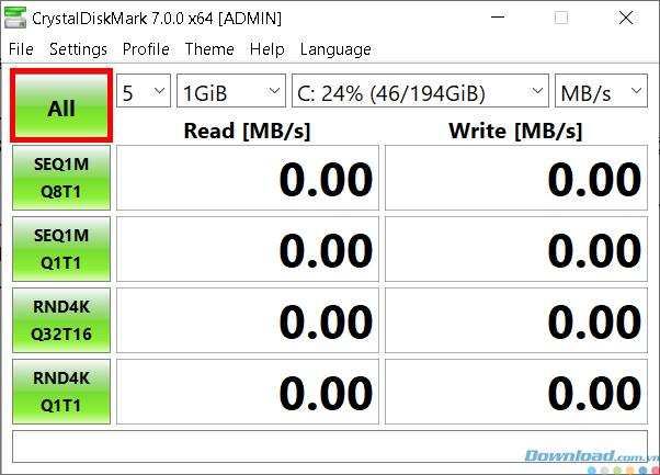 سرعت SSD / HDD را با CrystalDiskMark بررسی کنید