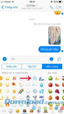 So erstellen Sie einen Schneeeffekt auf Facebook Messenger