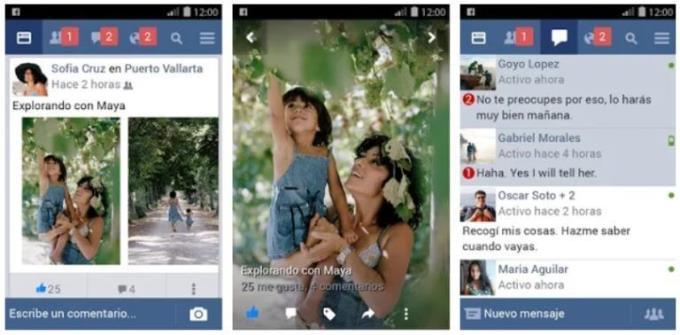 تفاوت بین Facebook و Facebook Lite