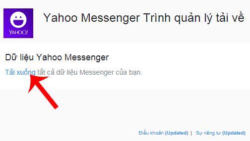 So laden Sie alle Yahoo Messenger-Daten auf Ihren Computer herunter
