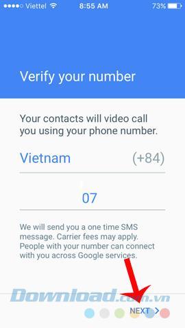 تماس تلفنی با Google Duo با تلفن تماس بگیرید