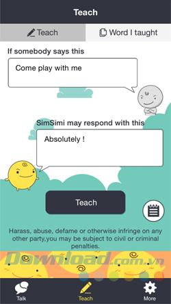 How does SimSimi work?