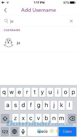 So fügen Sie Freunde auf Snapchat hinzu