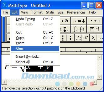 So identifizieren und verwenden Sie Tastaturkürzel in MathType