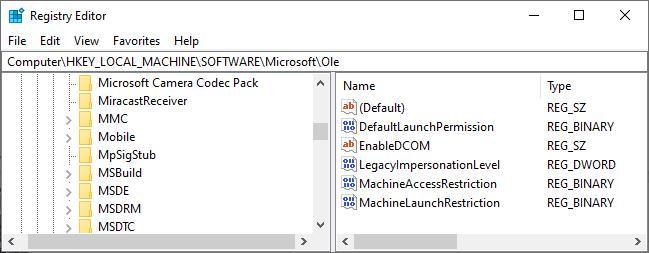 كيفية إصلاح خطأ DistributedCOM 10016 على نظام التشغيل Windows 10