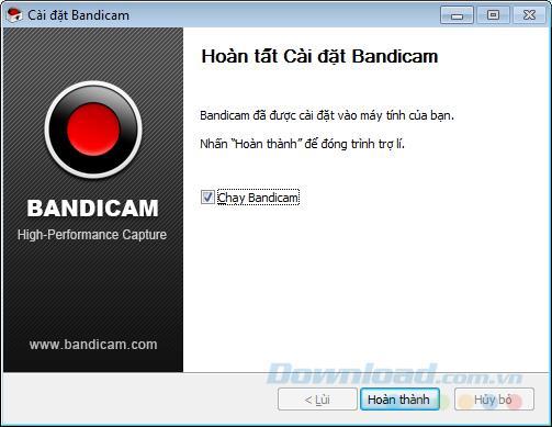 نحوه بارگیری و نصب Bandicam برای ضبط صفحه رایانه خود