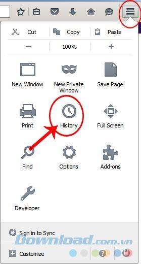 So löschen Sie den Browserverlauf in Firefox
