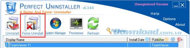 コンピューターからTeamViewerを完全に削除する方法の説明
