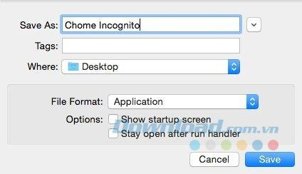 أنشئ اختصارًا لفتح Google Chrome بسرعة في وضع التصفح المتخفي