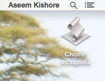 برای باز کردن سریع Google Chrome در حالت ناشناس یک میانبر ایجاد کنید