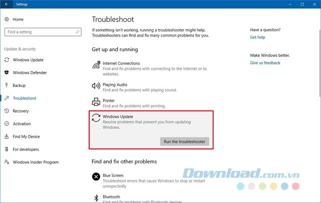 Ringkasan ralat pemasangan Windows 10 Fall Creators Update dan cara memperbaikinya - Bahagian 1