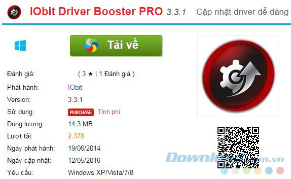 [Kostenlos] Copyright IObit Driver Booster PRO-Software