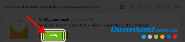 كيفية إنشاء حساب pCloud Drive