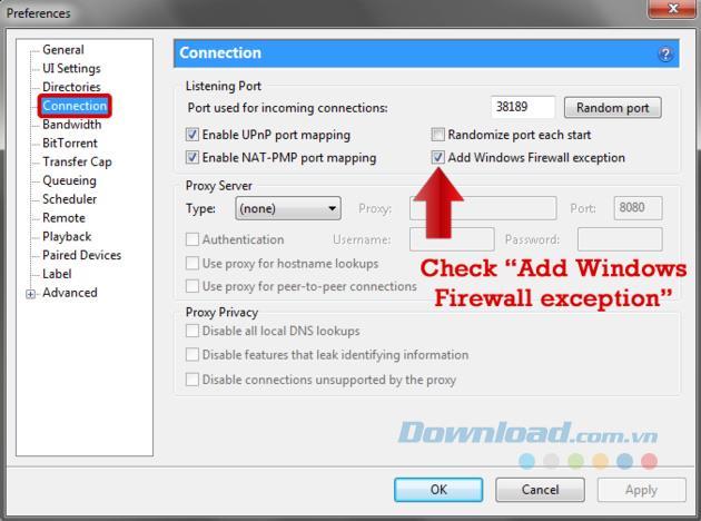 Download Beschleunigung für uTorrent