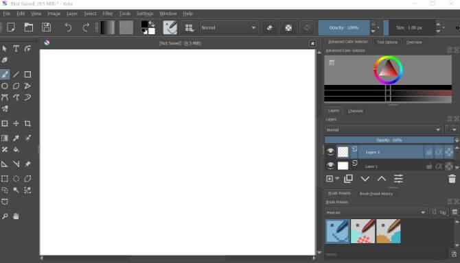 11 ابزار گرافیکی برتر برای کمک به شما در ایجاد شاهکار بی نقص هنر پیکسل
