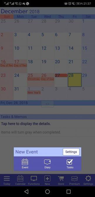 أفضل تطبيق لإدارة الوقت ، بديل لتقويم Google