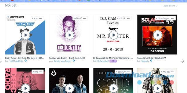 Panduan untuk mendengar dan memuat naik muzik di Mixcloud