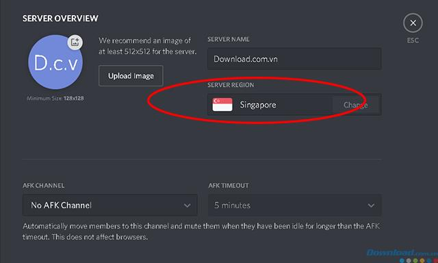 Anleitung zum Ändern des Discord-Serverclusters, um den Voice-Chat reibungsloser zu gestalten