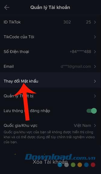 Anweisungen zum Ändern des Passworts Ihres Tik Tok-Kontos