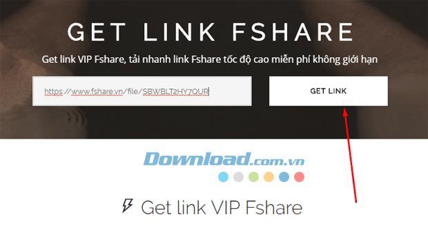 موقع توليف يحصل على رابط VIP عالي السرعة ، احصل على رابط Fshare ، 4share ، TenLua ...