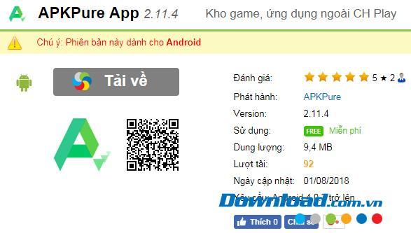 Androidフォン用のXAPKファイルをインストールする方法