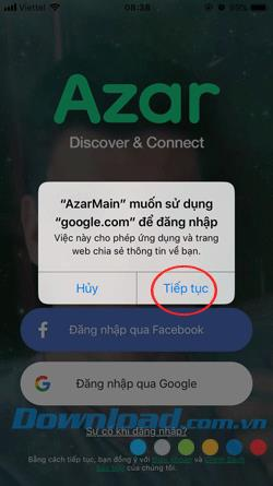 Azar user guide, free video chat application with friends