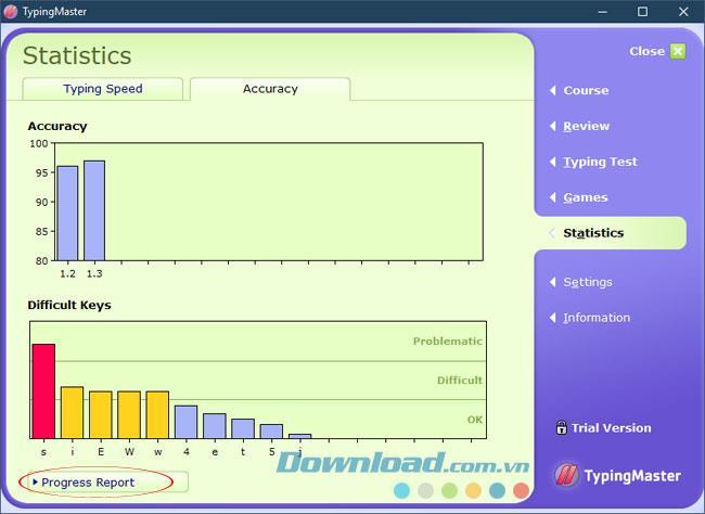 تعليمات لاستخدام برنامج TypingMaster Pro على الكمبيوتر