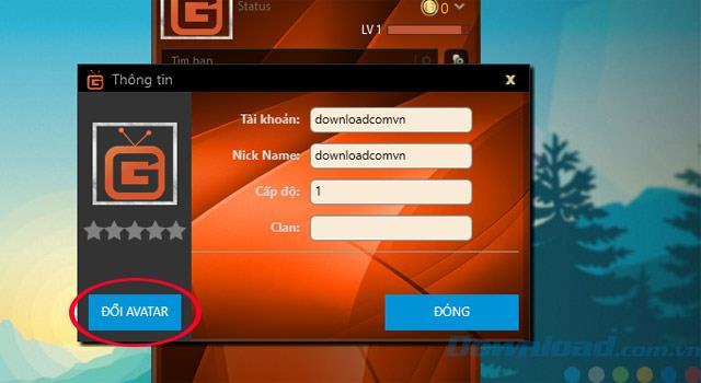 دستورالعمل تغییر آواتار در نرم افزار GameTV Plus