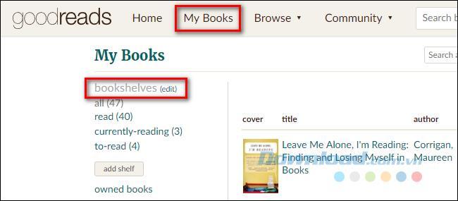So archivieren Sie Bücher, die Sie entfernen möchten, ohne sie in Goodreads zu löschen