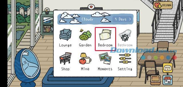 Como atualizar o quarto, banheiro no jogo Adorable Home