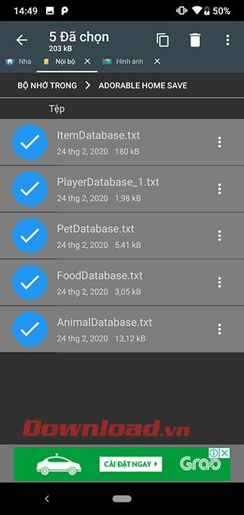 How to back up Adorable Home game data