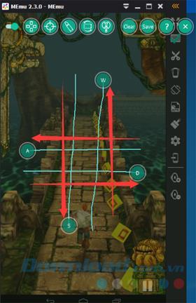 تعليمات لإعداد لوحة مفاتيح افتراضية لتشغيل الألعاب على MEmu