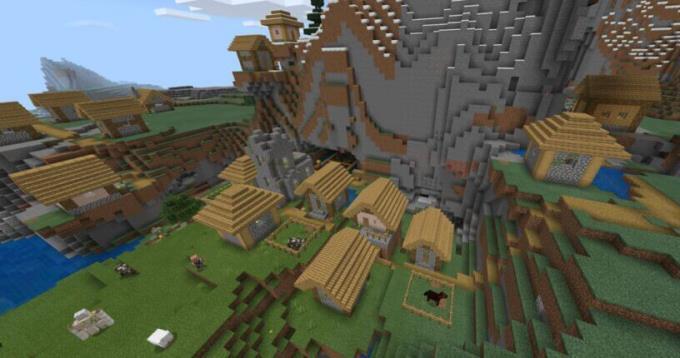 Summary of the best Minecraft PE seed