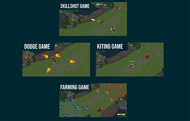 دودج LOL سوبر مثل فاكر مع لعبة LOL دودج minigame