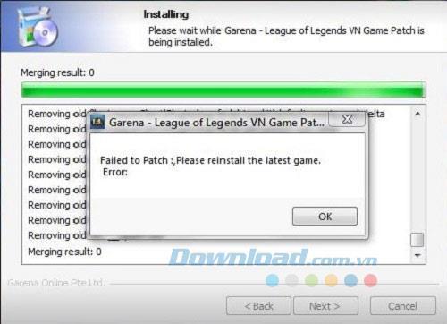 リーグ・オブ・レジェンドをプレイする際のエラーの概要と修正方法
