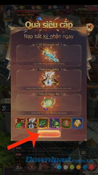 Anweisungen zum Laden der Yong Heroes-Spielkarte