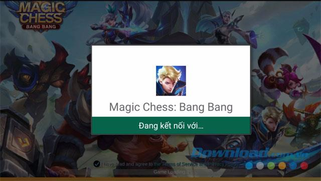 Instructions to download and play Magic Chess: Bang Bang