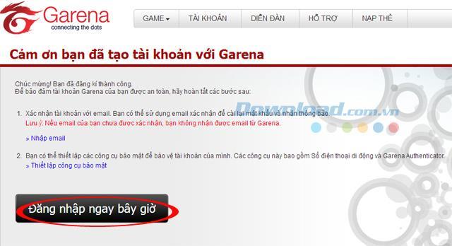 تعليمات إنشاء حسابات Garena game LOL و FIFA Online 3 و Dota
