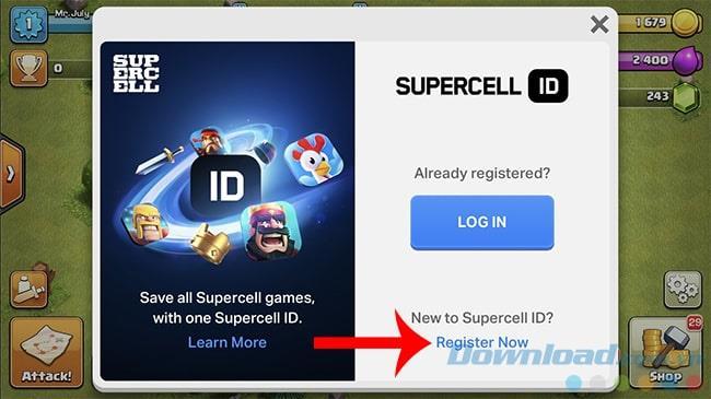 Der einfachste Weg, ein Supercell ID-Konto zu registrieren