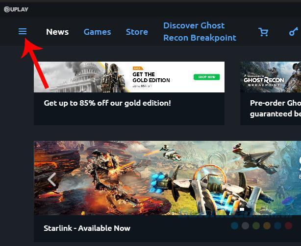 Ändere das Spielinstallationsverzeichnis bei Uplay
